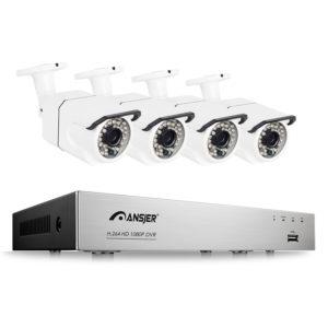 POE高清网络监控摄像头套装C105不带硬盘
