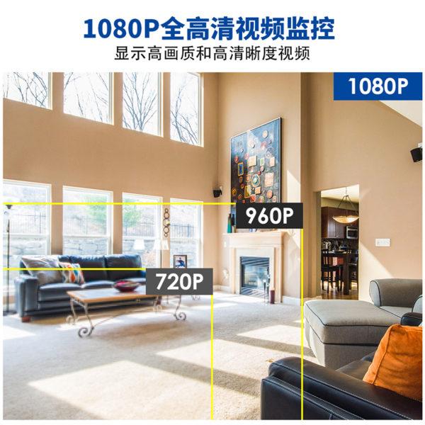 无线监控套装101主图3 高清图1080P